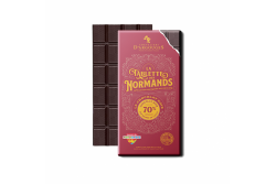 CHOC TABLETTE DES NORMANDS NOIR 72% 100G