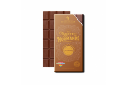 CHOC TABLETTE NORMANDS LAIT CARAMEL 100G