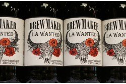 Bière Brown ALE La Wanted B.MAKER 33cL