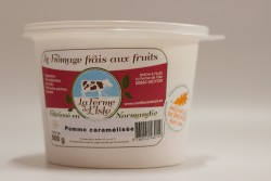 Fromage frais F.L'ISLE Pom/caram 500g