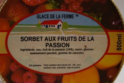 GLACE.FERME Fruits Passion 500mL
